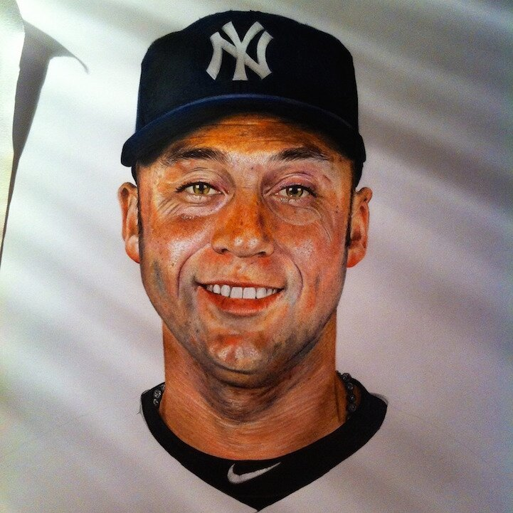 18-Year-Old Artist's Amazingly Realistic Drawings of Celebrities