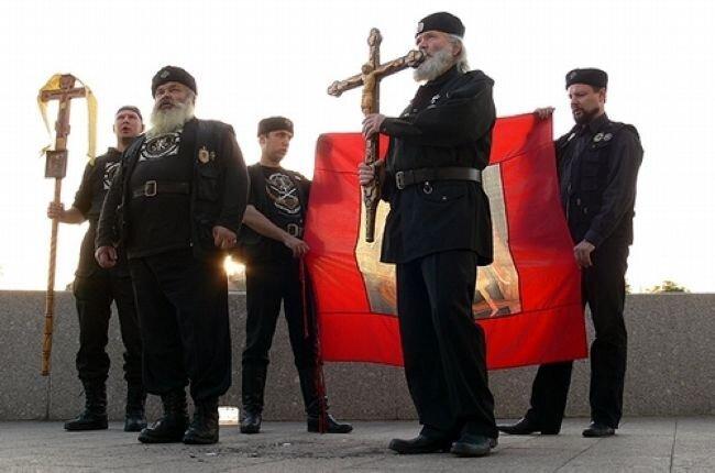 Православные инквизиторы сожгли экземпляр новой книги о Гарри Поттере (9 фото)