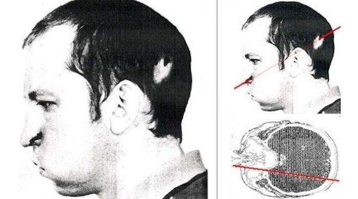 Засунул голову в ускоритель частиц (2 фото)