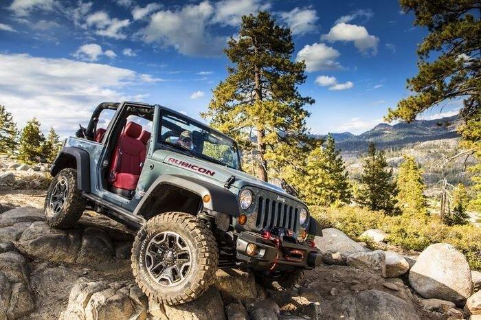Wrangler Rubicon - самый проходимый Wrangler за всю историю Jeep (27 фото)