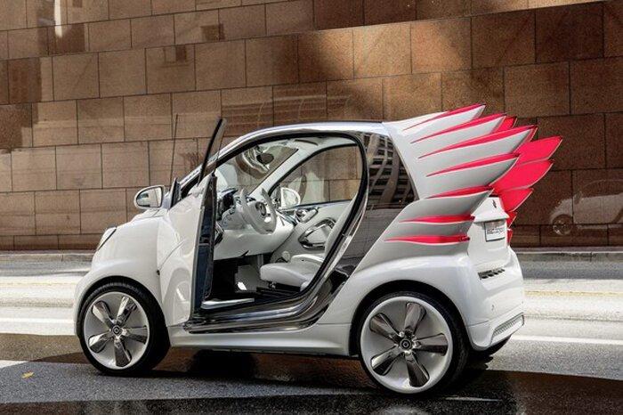 Крылатый Smart ForJeremy пойдет в продажу в 2013 году