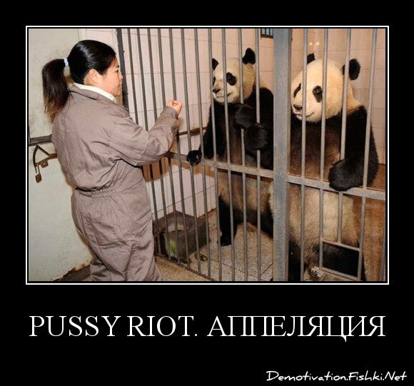Pussy Riot. Аппеляция.