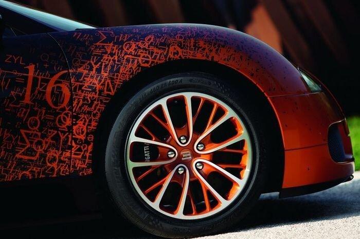 Bugatti Veyron Grand Sport в математическом исполнении (20 фото)