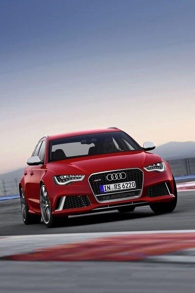 Компания Audi представила обновленный RS6 Avant (24 фото)