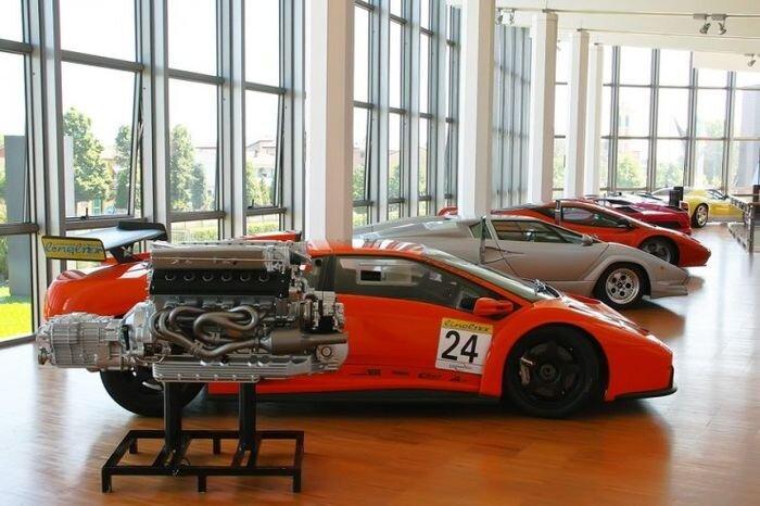Итальянский музей Lamborghini (40 фото)