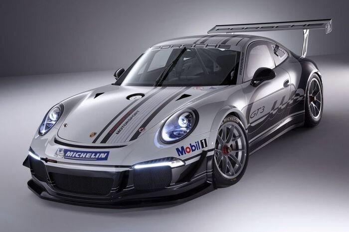 В Porsche показали новый 911 GT3 Cup (10 фото+2 видео)