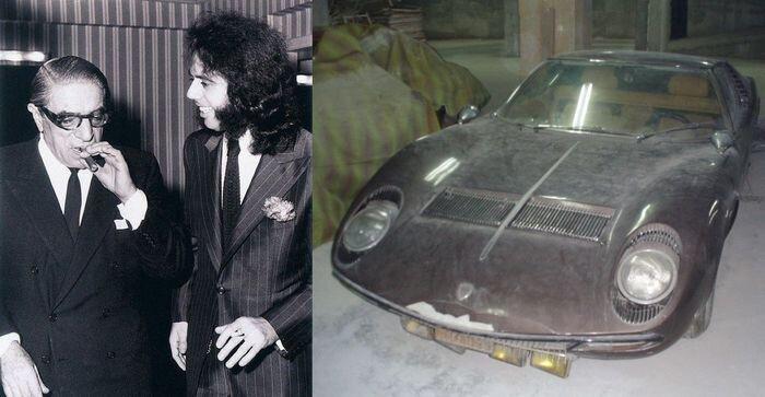 Уникальная Lamborghini Miura известного певца выставлена на продажу (26 фото)