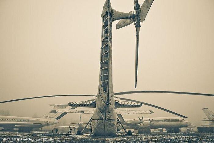 Музей гражданской авиации в Ульяновске (40 фото)
