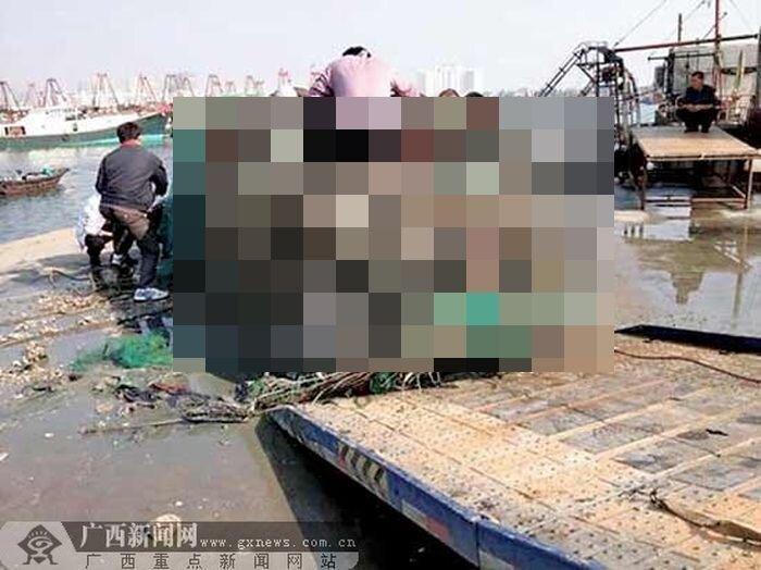 Необычный улов китайских рыбаков (2 фото)