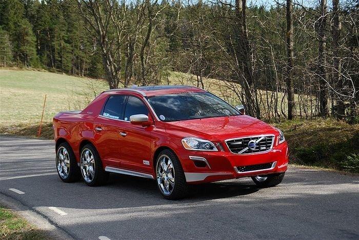 Шестиколесный Volvo - роскошь или уродство? (10 фото)
