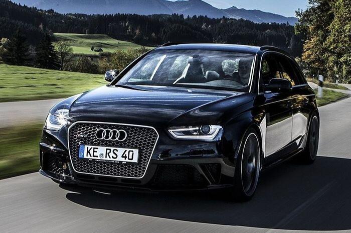Audi RS4 преобразилась в ателье ABT (14 фото)