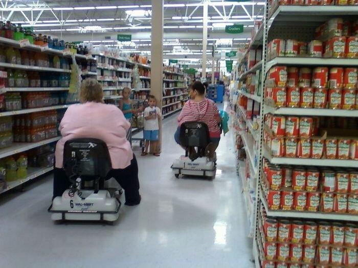 Американский шоппинг (2 фото)