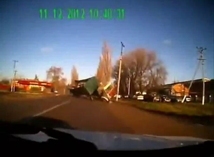 Авария дня часть 854 (фото+видео)