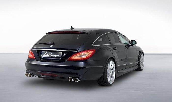 Тюнинг Lorinser для Mercedes-Benz CLS Shooting Brake (6 фото)