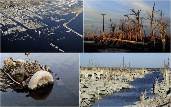 Вилла Эпекуэн. Затопленный город (20 фото)