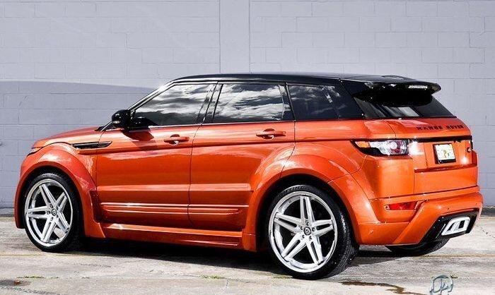 Range Rover Evoque в тюнинге от Ultimate Auto (13 фото)