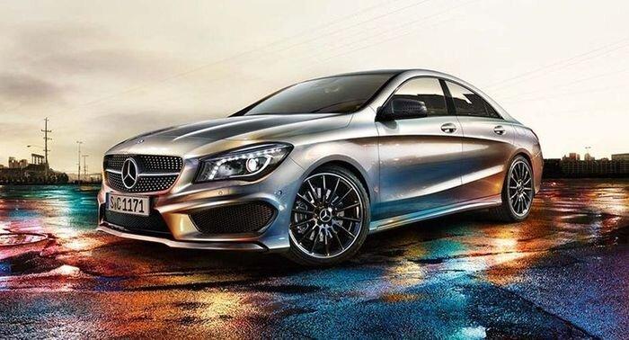 Первые официальные фото нового Mercedes CLA (5 фото)