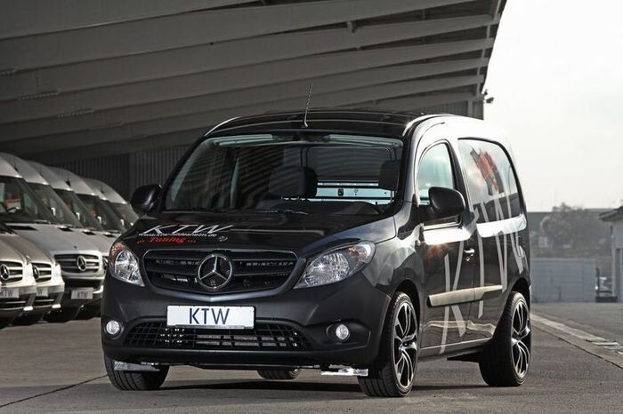 Мастера из KTW Tuning поработали над фургоном Mercedes Citan (9 фото)