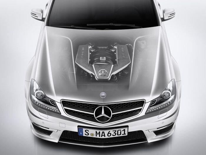 Mercedes-Benz отказался от мотора 6,2 литра в пользу турбо-четверки V8 (текст)