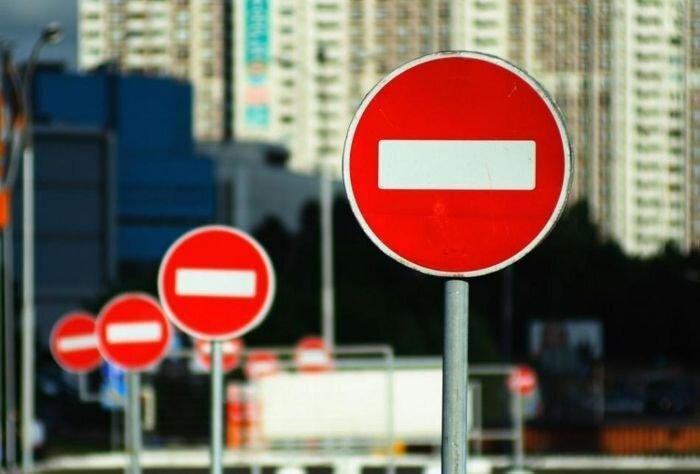 Ограничения движения на новогодние праздники в Москве (текст)