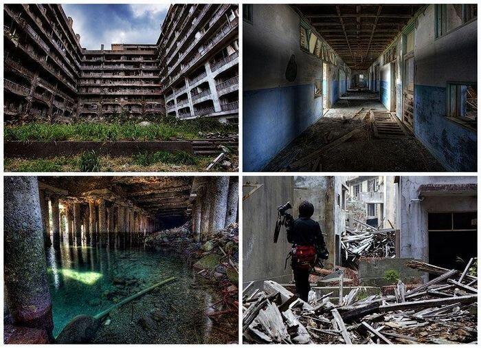 Хасима — пристанище призраков (18 фото)