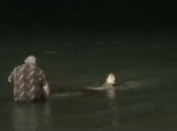 Утонула дочка (видео)