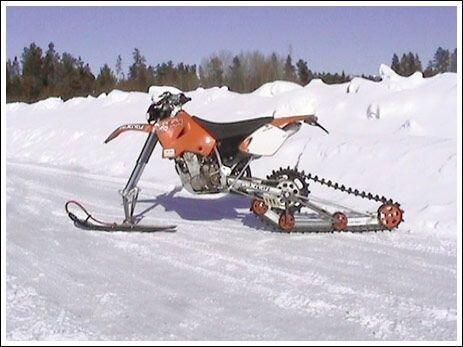 снегоход (16 фото)