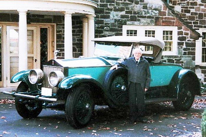 Американец проездил на своем Rolls-Royce 78 лет