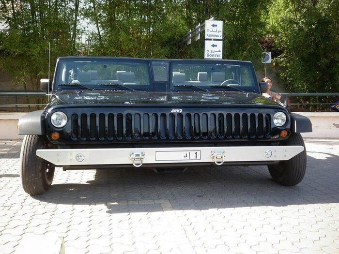 Это не глюки - двойной  Jeep Wrangler (фото+видео)