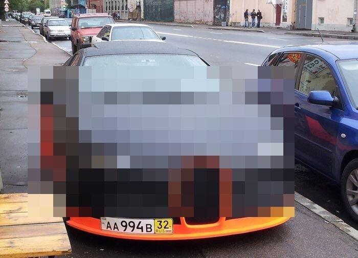 В России построили реплику Bugatti Veyron Supersport (3 фото)
