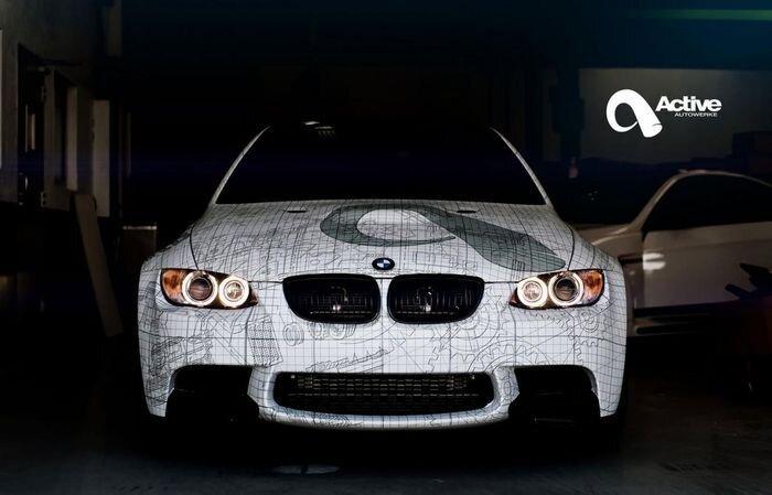 BMW M3 в кузове (E92) от тюнеров из Active Autowerke (7 фото+видео)