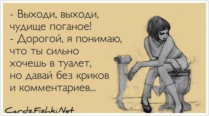 - Выходи, выходи, чудище поганое! - Дорогой, я понимаю,... от Елена Саликова за 11 января 2013