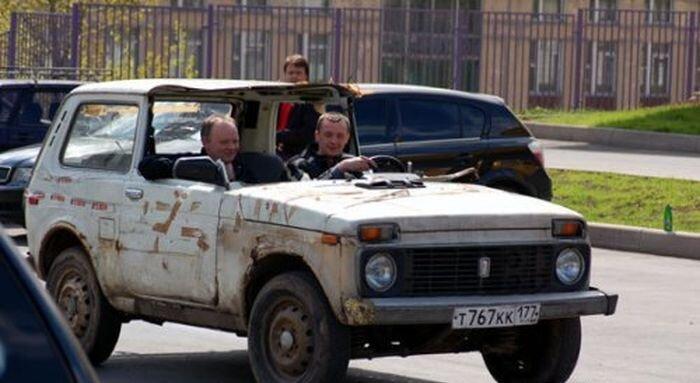 Чисто русские авто
