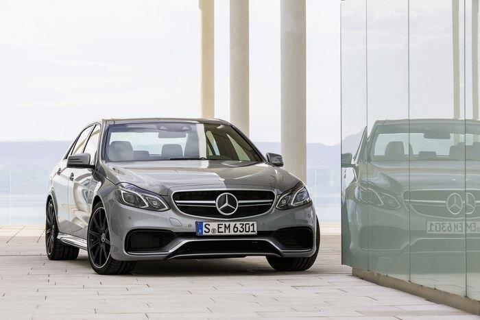 Новые седан Mercedes E63 AMG и универсал E63 AMG Estate представлены официально (33 фото)