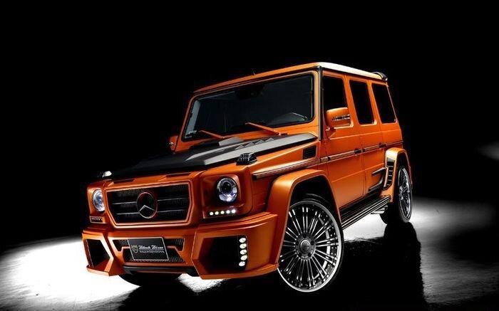 В ателье Wald подготовили новый обвес для Mercedes-Benz G-Class (18 фото)