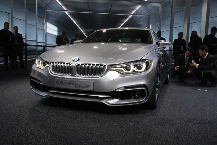 Баварцы представили новый BMW 4-Series Coupe (35 фото+видео)