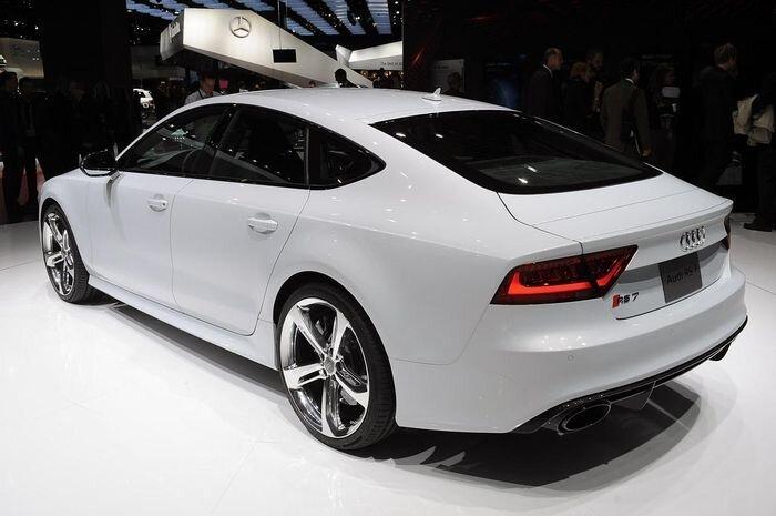 RS7 Sportback - новый жеребец от Audi (39 фото)