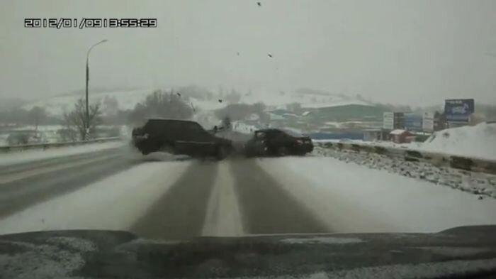 Авария дня часть 881 (фото+видео)