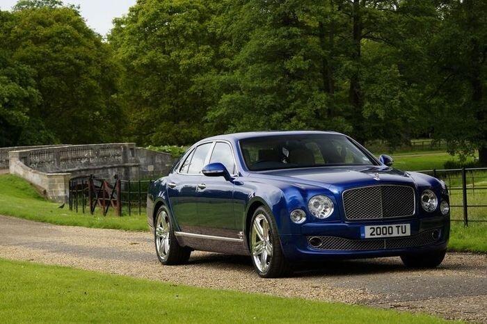 Компания Bentley сделала модель Mulsanne еще роскошнее (22 фото+2 видео)
