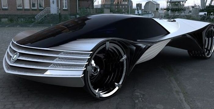 Автомобиль на ядерном топливе (5 фото)