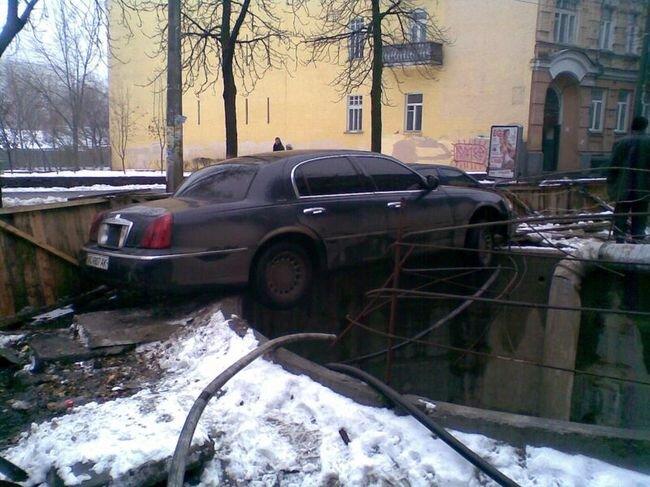 Грамотно припарковался (5 фото)