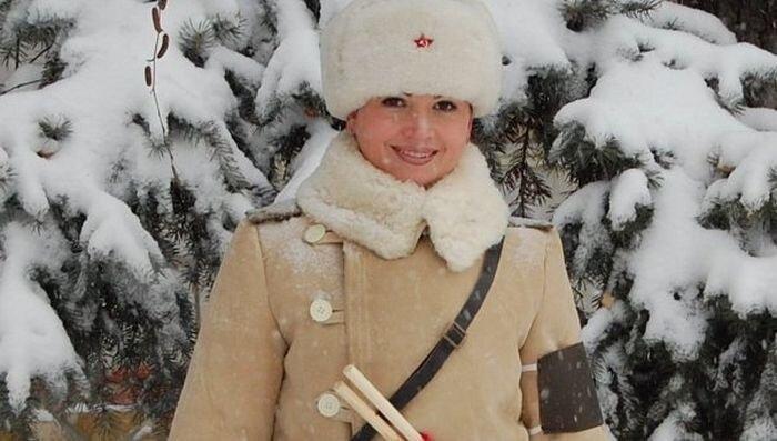 На улицы Волгограда выйдут регулировщицы в форме военных лет (5 фото+видео)
