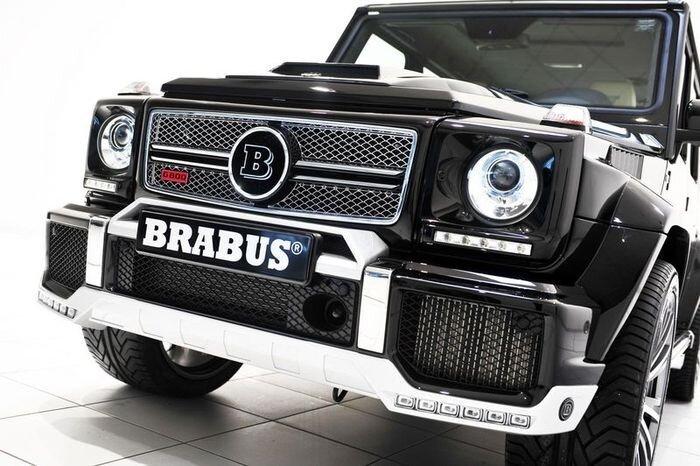 Brabus создал очередного монстра  Mercedes G800 (17 фото)