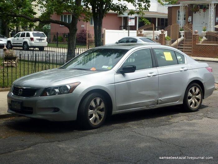 Наказание за неправильную парковку в Нью-Йорке (3 фото)