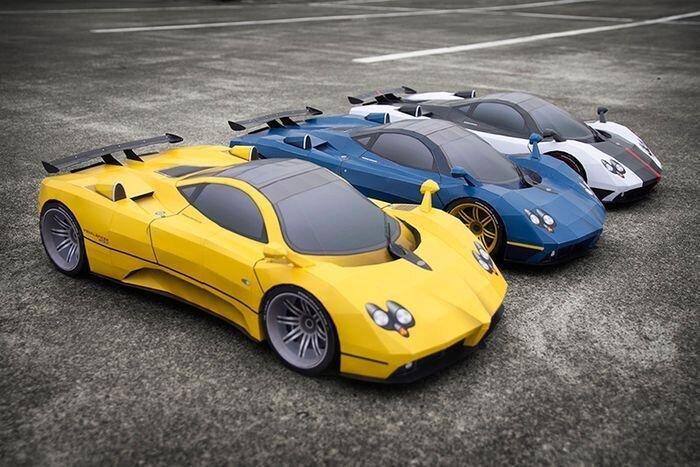 Три самодельных спорткара Pagani Zonda (8 фото+видео)