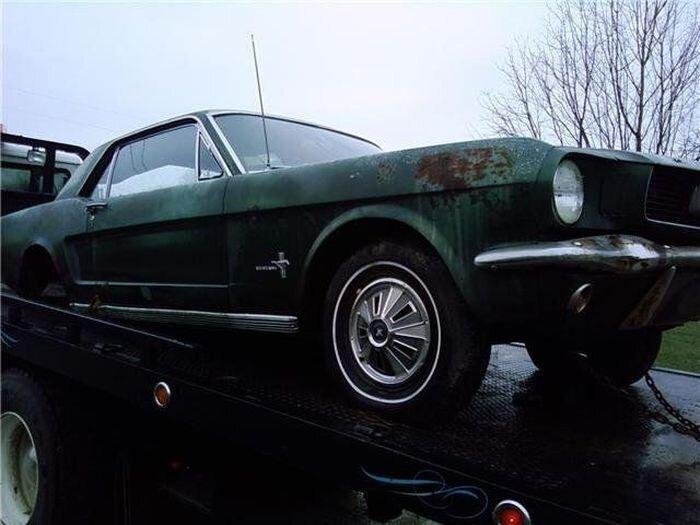 Путь восстановления Ford Mustang (7 фото)
