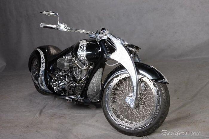 Кастомный мотоцикл Chimera - история создания (32 фото)