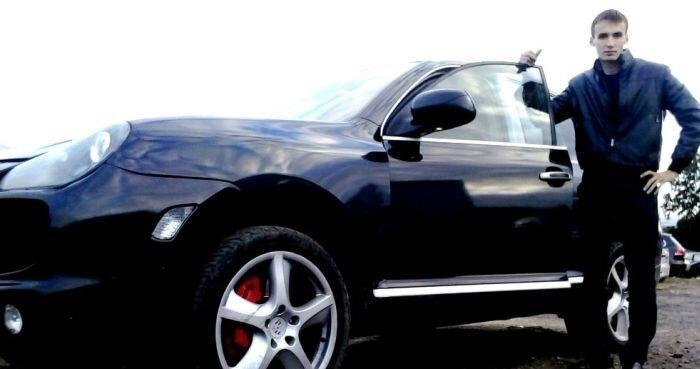 Нарушителя на Porsche Cayenne задержали!... и отпустили... (23 фото+видео)