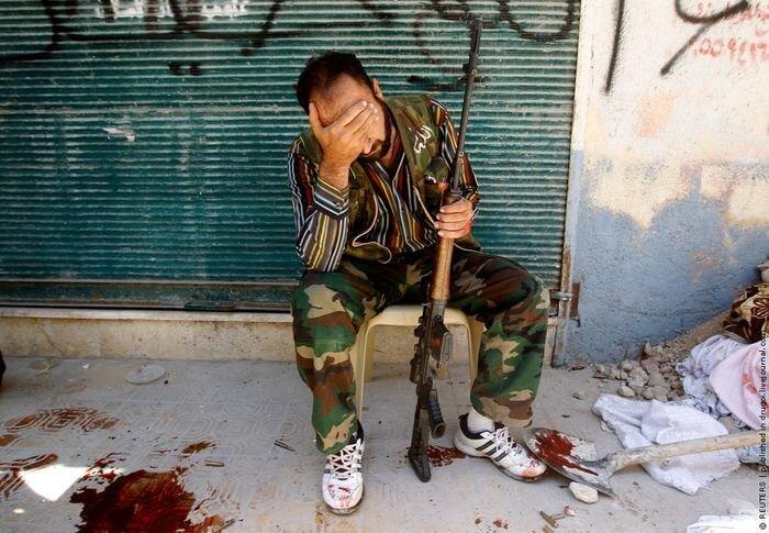 Сирия в огне (20 фото)
