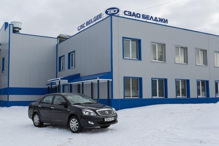 Производство белорусского Geely SC7 за 13000$ (43 фото)